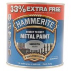 Image for HM METAL SMOOTH SILVER 33% FREE 1 LTR