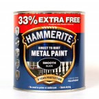 Image for HM METAL SMOOTH BLACK 33% FREE 1 LTR